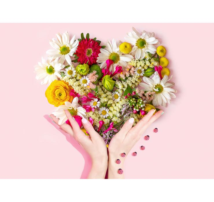Свежие цветы с душой и любовью